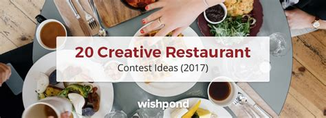 Creative Sweepstakes Ideas - 20 creative restaurant contest ideas 2017 johnshipka com