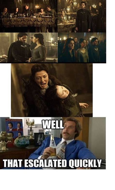 Game Of Thrones Red Wedding Meme - the most accurate use of this meme yet got the red
