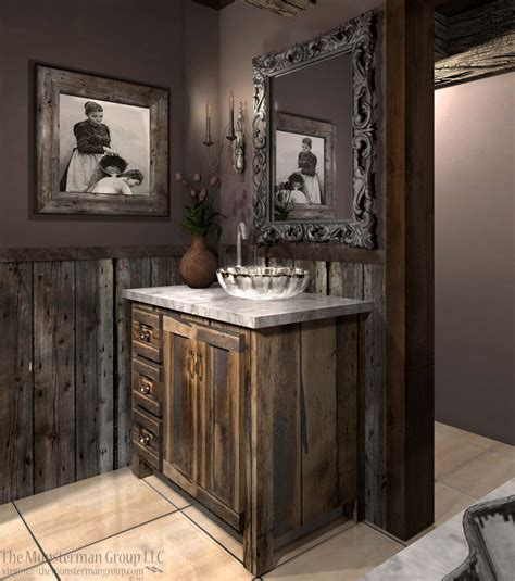 barnwood bathroom 11 14 13 diamond mine bath redesign barn wood reclaimed