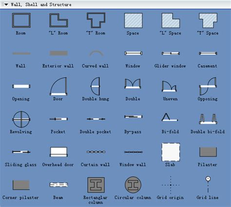 floor plan symbols chart small wood projects free floor plan symbols