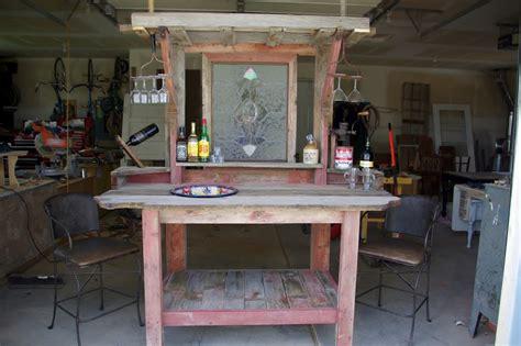 Bar Barn Reclaimed Rustics Barn Wood Patio Bar