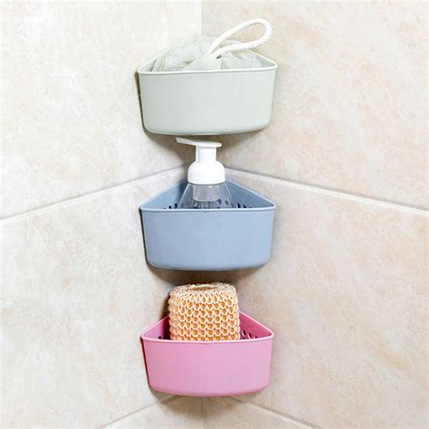 3 type shelf kitchen sink dish drain rack bathroom soap