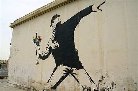 Banksy Wall Murals banksy art in bethlehem and palestine thedepartureboard
