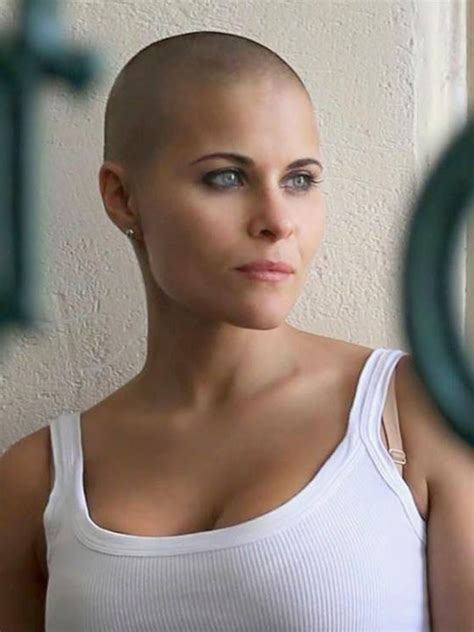 bald women head shave haircuts 145 best bald headed women images on pinterest