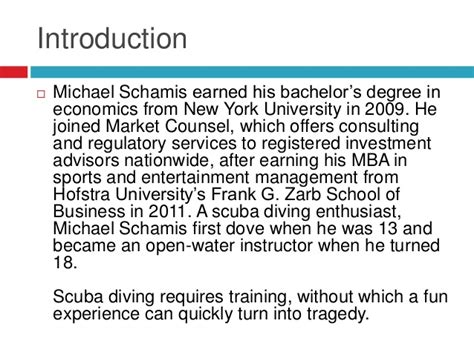 How To Get Into Consulting After Mba by Certification Of Scuba Divers And Their Instructors