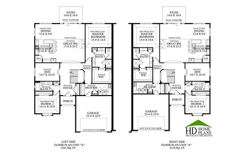 Walk Out Basement Floor Plans by Legend Ranch Town Homes Of Mequon Heislen Designs