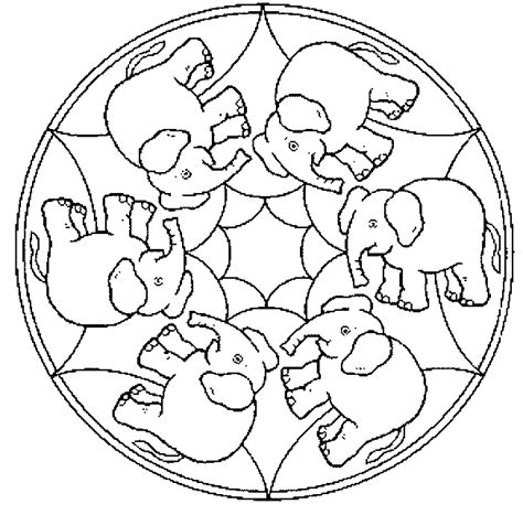 mandala coloring pages for adults animals free coloring pages of animal mandala