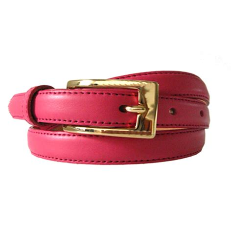 lipsticz pink leather belt leather4sure leather belts