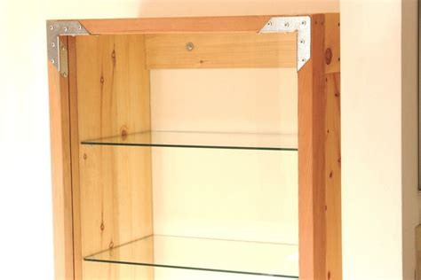 Custom Glass Cabinet Doors Crafted Large Cabinet With Glass Door By Catapult Woodworks Custommade
