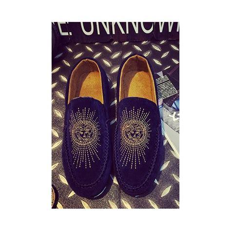 Sepatu Slip On Versace D5887 jual sepatu slip on pria merk versace