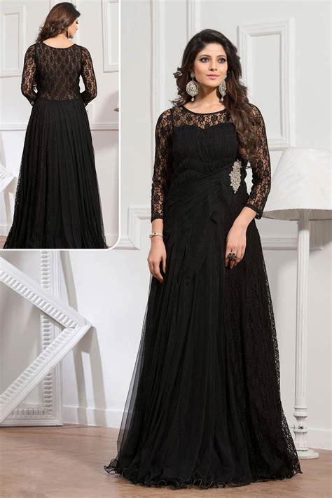 Indian Black Dress buy designer gowns singapore black indian