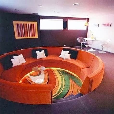 1960s design moon to moon conversation pits