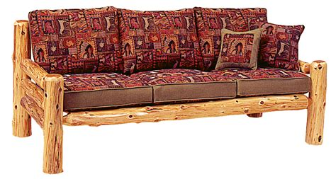 log couch sofas chairs rustic furniture mall by timber creek