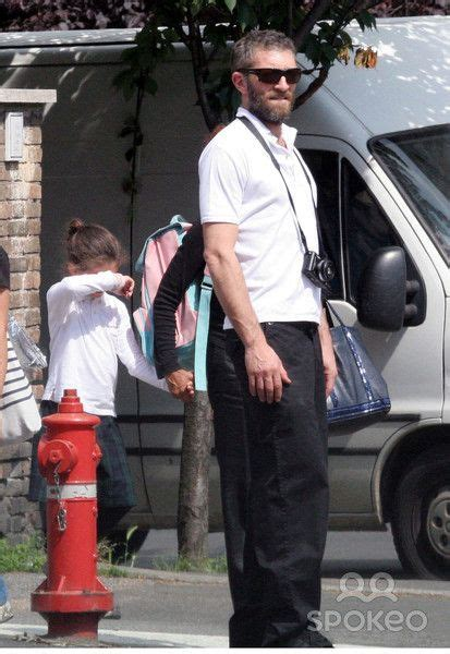 monica bellucci rising sign vincent cassel picks his daughter deva up from school and