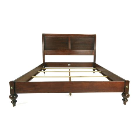 Shop Paris Iron Sleigh Bed Queen Used Bed Frame
