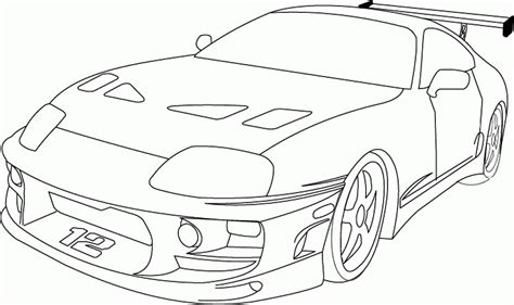 coloring pages of fast cars fast and furious coloring pages coloring home