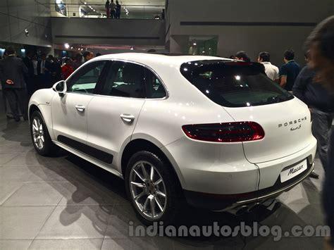 Porsche Macan Rear by Porsche Macan Rear Three Quarters In India