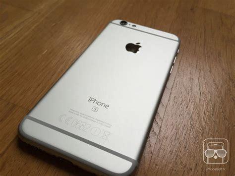 iphone 6 s wann nos photos de l iphone 6s blanc
