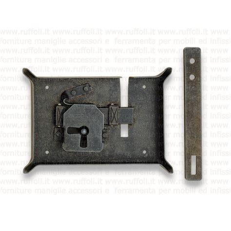 serrature per mobili antichi serratura per bauli fs172 50 ruffoli