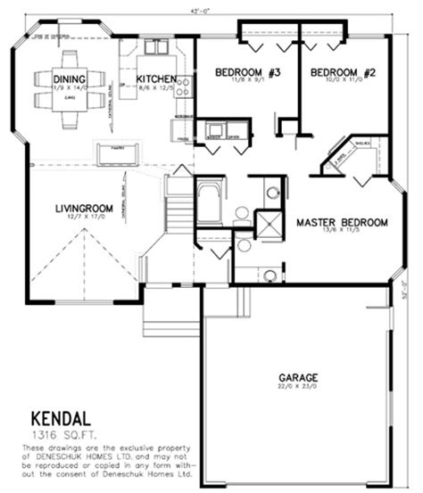 home design in kendal deneschuk homes ltd ready to move rtm kendal home plan