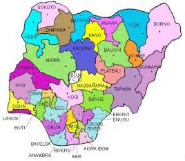 Map Of Nigeria States by Map Of Nigeria Pictures To Pin On Pinterest