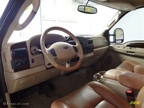 King Ranch F250 Interior by 2005 Ford F250 Duty King Ranch Crew Cab Interior