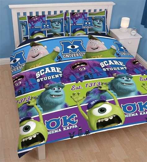 monsters university bedding monsters inc university