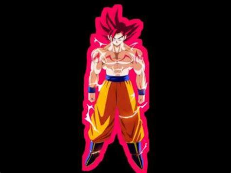 imagenes de goku en fase dios transformaciones de goku en ssj dios youtube