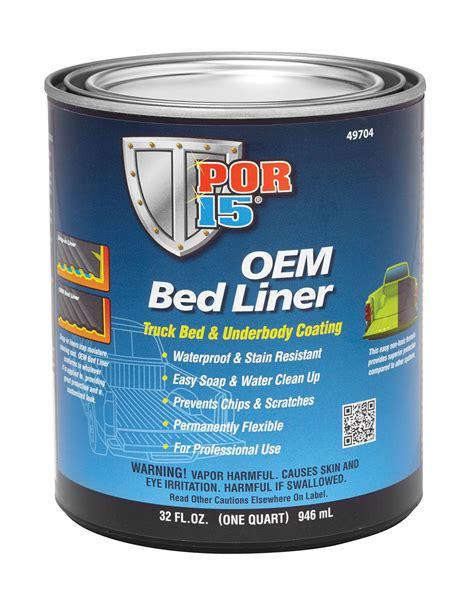por 15 oem bed liner black quart