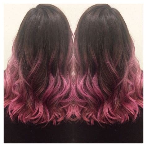 brunette hair gray riots 25 b 228 sta brown and pink hair id 233 erna p 229 pinterest ombre