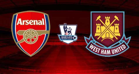 arsenal vs west ham arsenal vs west ham united 0 2 highlights video