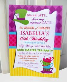 Mad Hatter Invitation Template by Mad Hatter Tea Invitations Gangcraft Net