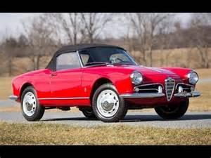 1959 Alfa Romeo Giulietta Spider 1959 Alfa Romeo Giulietta Spider 140 250 Sold