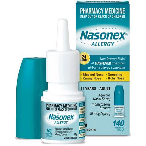 Obat Nasonex koeng asma penggunaan nasal spray