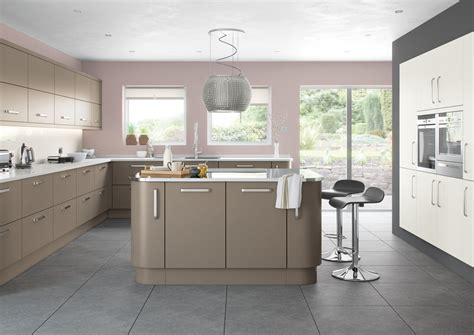 gray and brown kitchen lusso range affordable home improvements