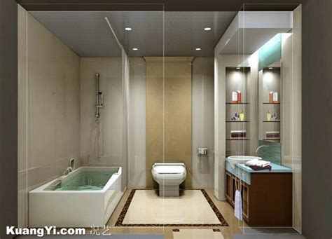 toilet bath modern washroom renovation beige west view