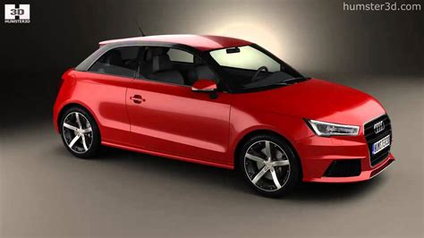 Audi A1 Model by Audi A1 3 Door 2015 By 3d Model Store Humster3d Youtube