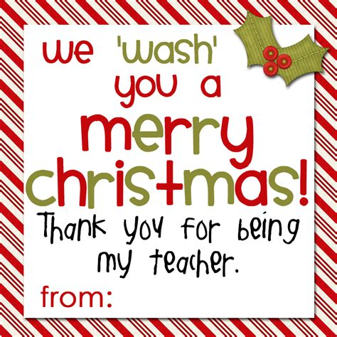 Printable Christmas Gift Tags For Teachers | camille s corner soap gift tags for teachers