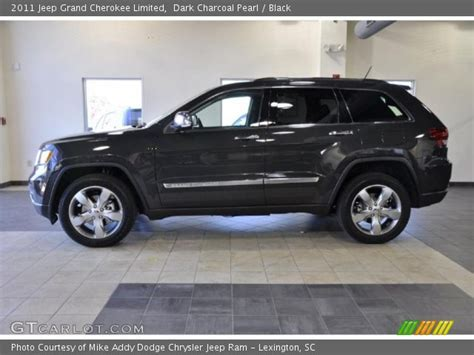 charcoal black jeep dark charcoal pearl 2011 jeep grand cherokee limited