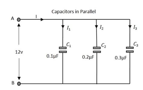 parallel electrolytic capacitors basic electronics circuit connections in capacitors