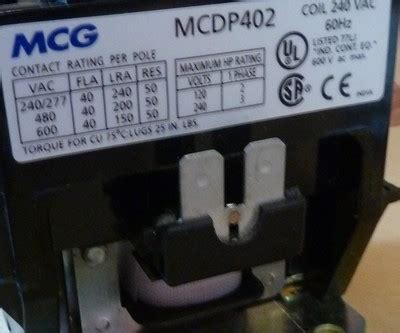 mcg contactor wiring diagram 28 wiring diagram images