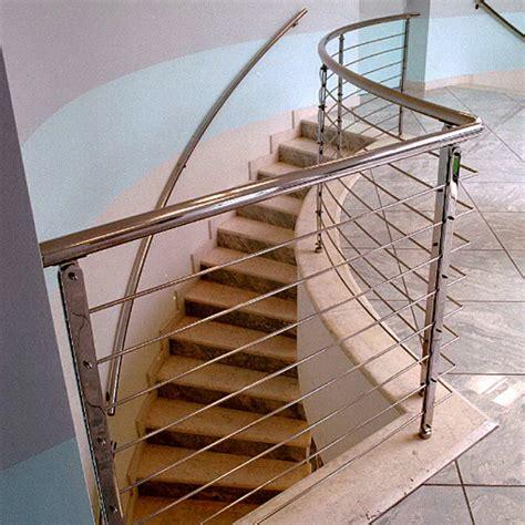 corrimano per scale corrimano scale trendy corrimano acciaio e vetro with