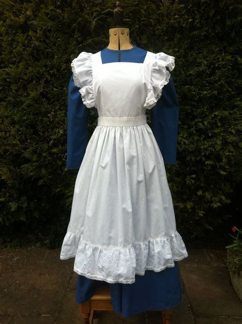 sewing pattern for victorian apron victorian aprons victorian styled dress and apron ideal