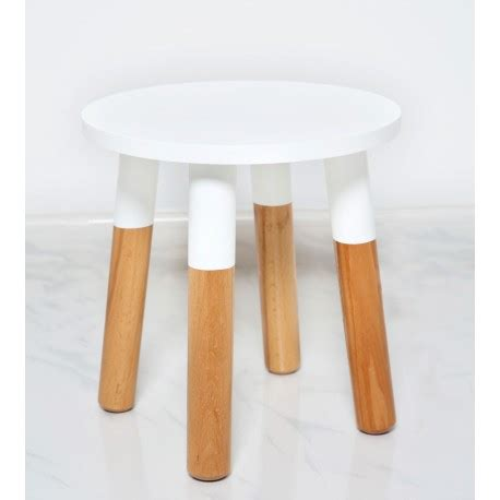 What Causes Large Stools In Children by Stool In White By Pomme Furniture And Decor Marmarland