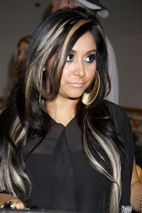 how to dye hair with black chunks black hair with blonde highlights hubpages