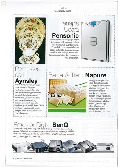 Pembersih Udara Pensonic Magazine Pensonic