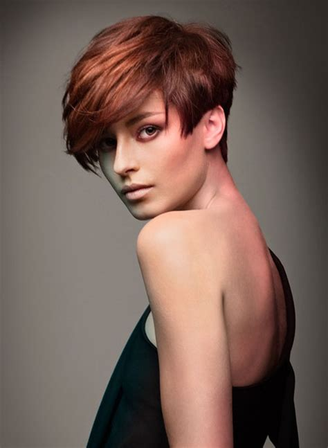 short hairstyles and color for 2017 auburn hair color for short haircuts best hair color