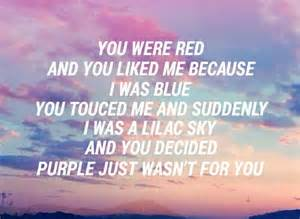 colors lyrics colors halsey by bands are whi