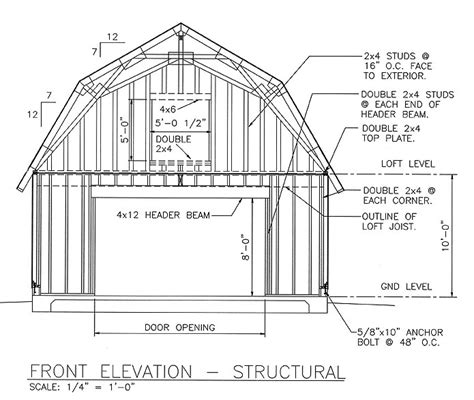mass wood working   pole shed plans blueprints