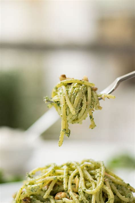 Spinach For Detox by Detox Pasta With Spinach Pesto